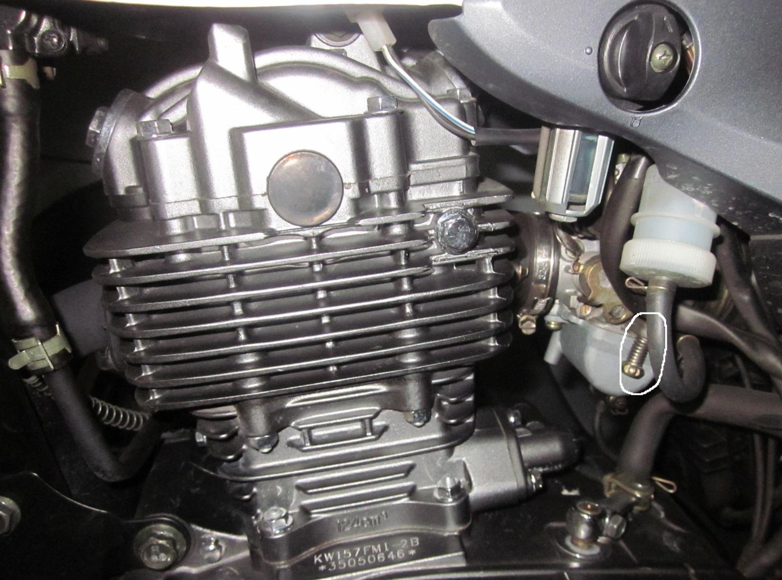 Regulación carburador rks 150 1zp3c45