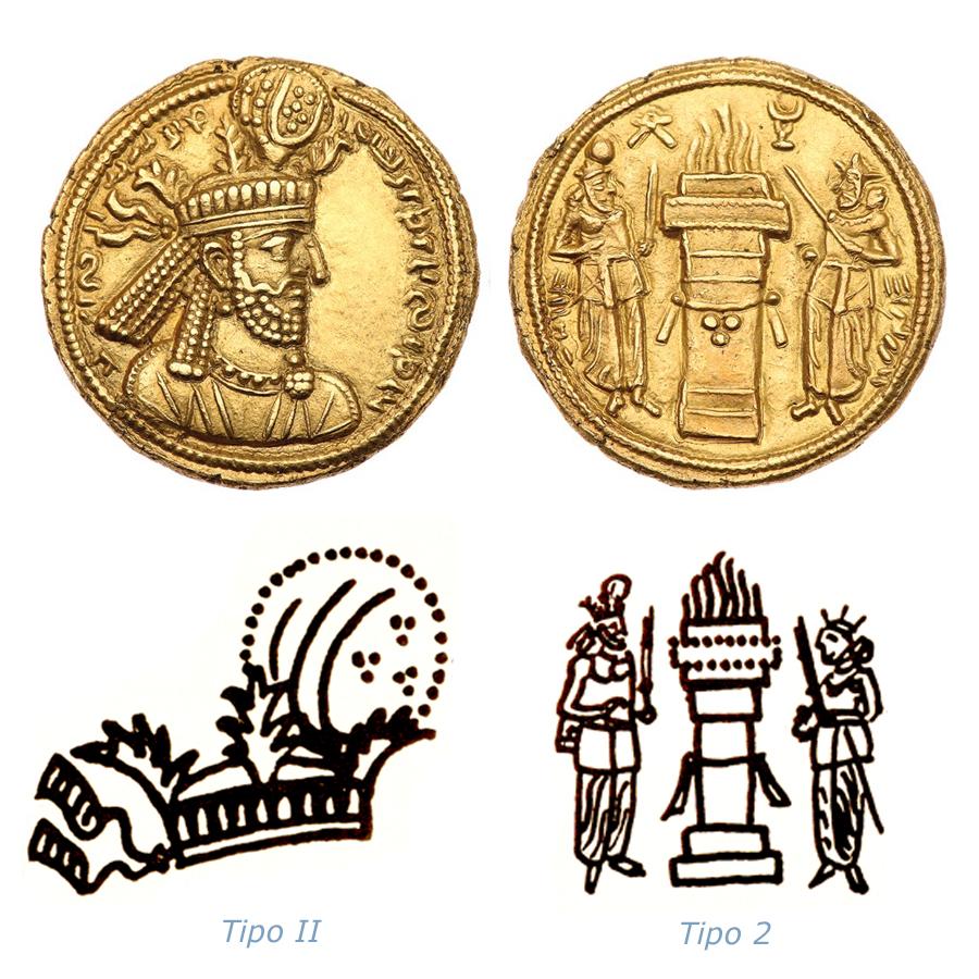 Las coronas de los shas de Persia. 20fc8rb
