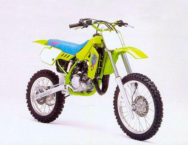 Kawasaki KX 80 1990 puesta a punto 20p1tl0