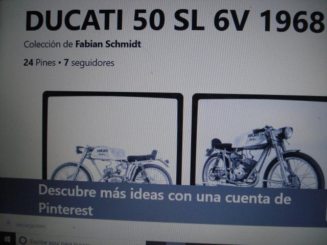 Ducati 50 cc con 6 velocidades 21bnndk