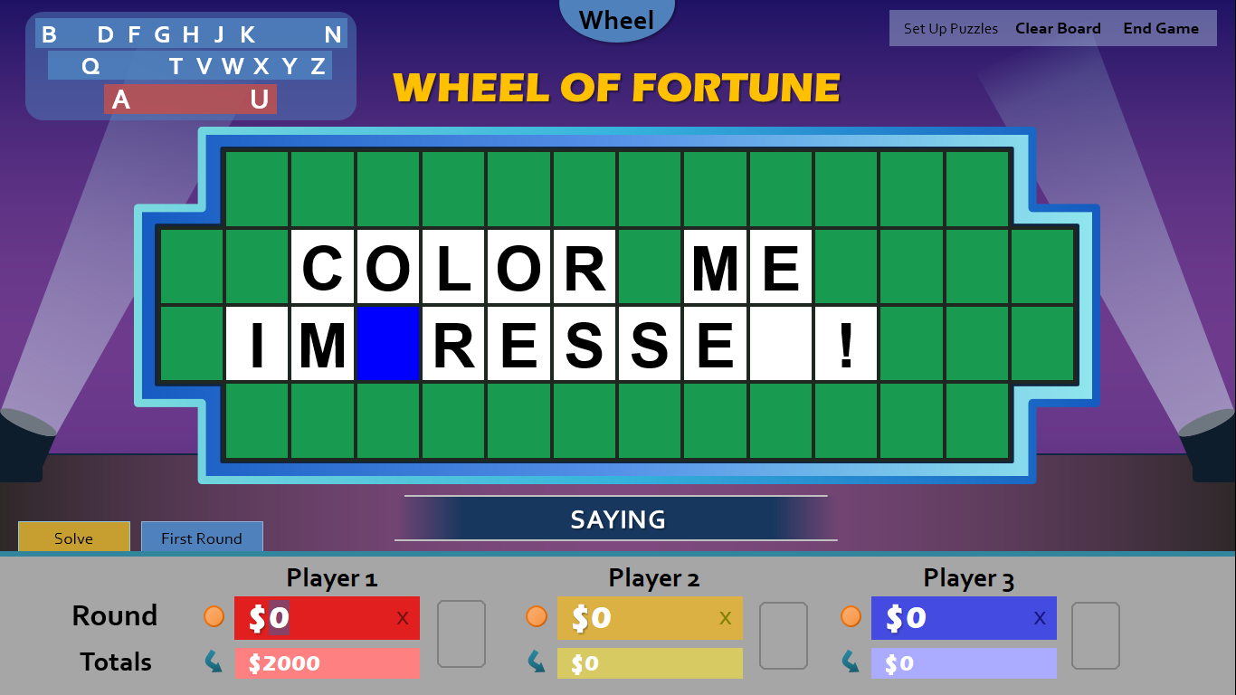 Wheel of Fortune for PowerPoint - Games by Tim 23464o