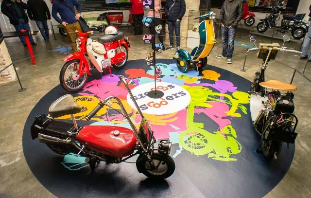 Un Siglo de Scooters: Museo Moto Barcelona 23js9x4