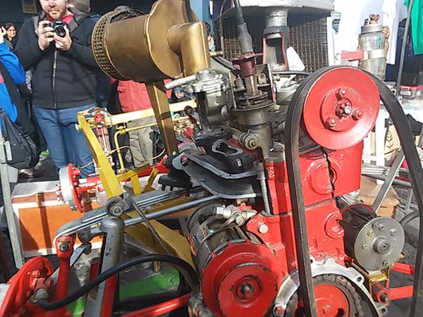 Motor seccionado para exposición 24gpr7n