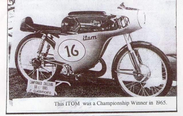 50cc - Itom 50cc de carreras 1967 25hpg10