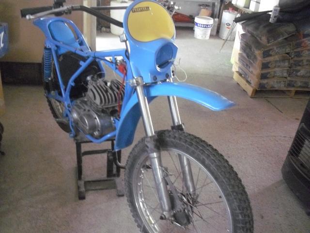La Bultaco Frontera 74 de mi hija. 281cuq