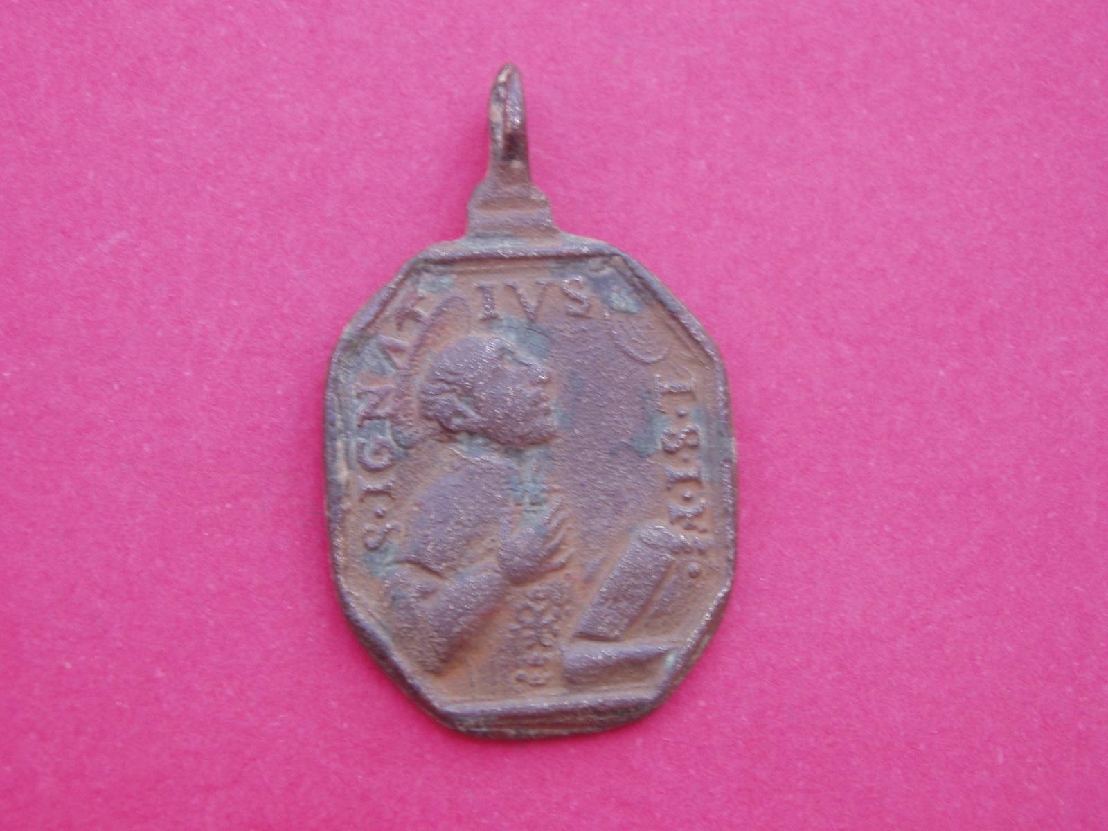 Medalla San Francisco Javier y San Ignacio de Loyola 28b9yx5