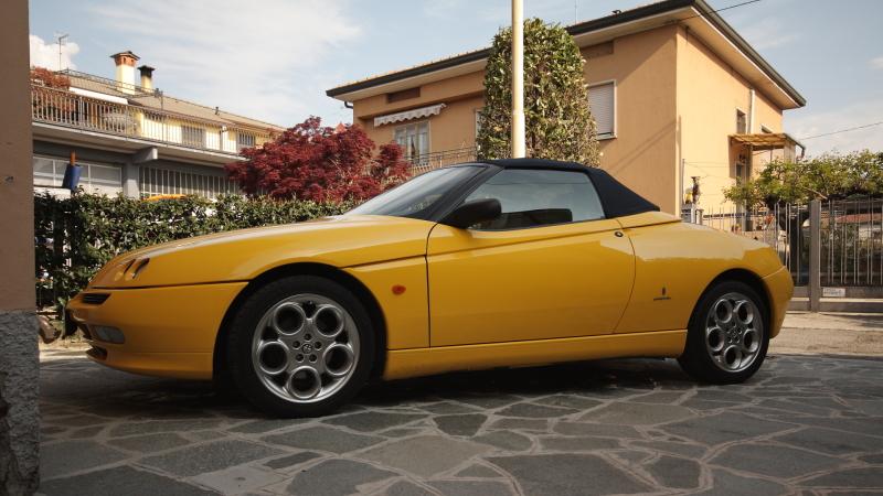 Alfa Romeo Spider 29nzdcx