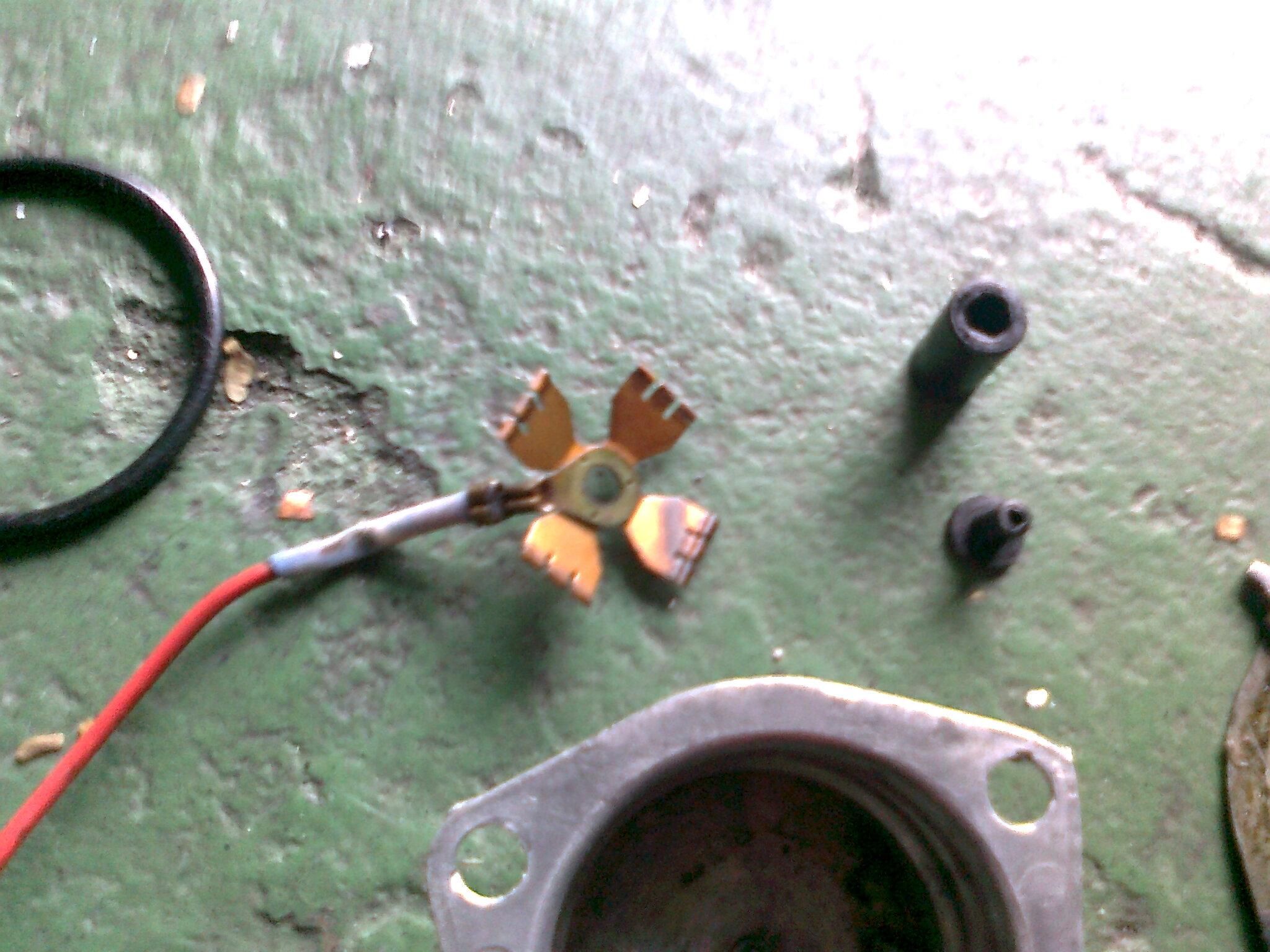pré aquecedor de combustivel no coletor de admissao monza alcool (ptc) 29x7a9