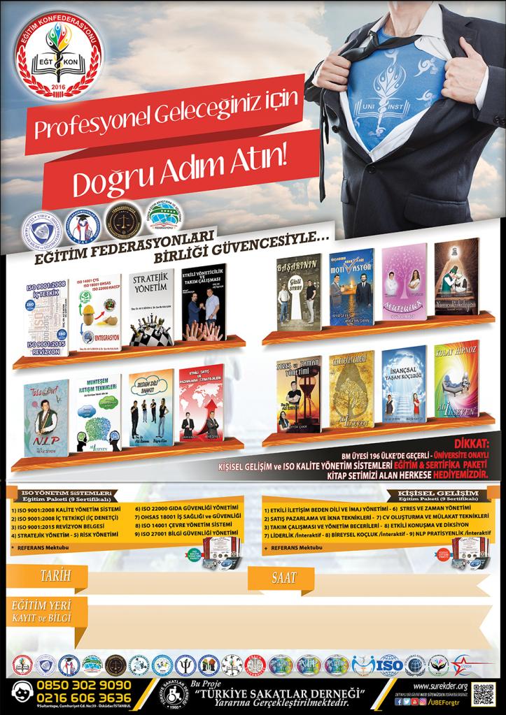 16 Adet Kişisel Gelişim Kitabı, 18 farklı Sertifika ve fazlası bu pakette 2dbngn4