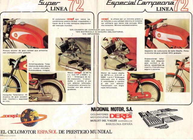 Derbi Antorcha Super primera serie 2dvk137