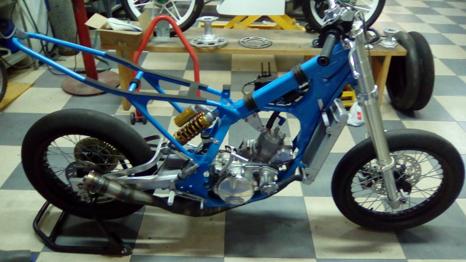 Proyecto Frontera 125 cc. Dirt-Track 2gt5b3b