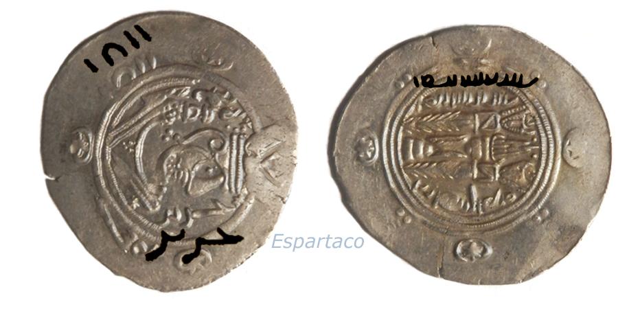 Los Hemidracmas de Tabaristán. 2hhfw39