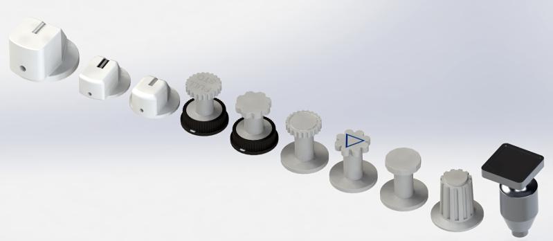 Knobs do Airbus prontos para impressão 3D 2ibp3r9