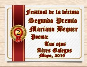 PREMIACIÓN DEL FESTIVAL DE LA DÉCIMA Y EL COLOR / MAYO 2019/ POESÍA CLÁSICA Y LIBRE 2j1aqld
