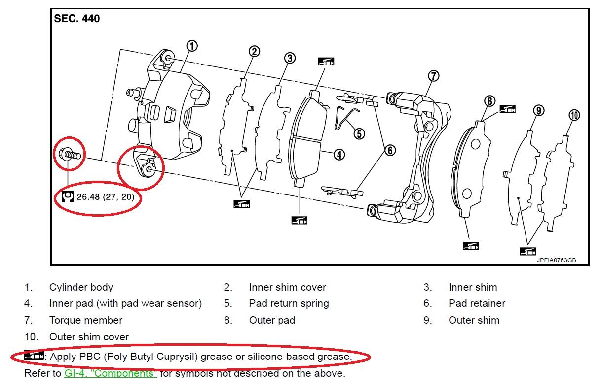 Troca da pastilha de freio do Nissan March 1.6 16V BR/MEX. 2jwaox