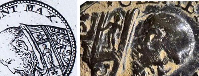 Clemente VIII / Año Jubilar Romano 1600 (R.M. SXVII-O417) (Pe Clemente VIII 2) 2lk907t