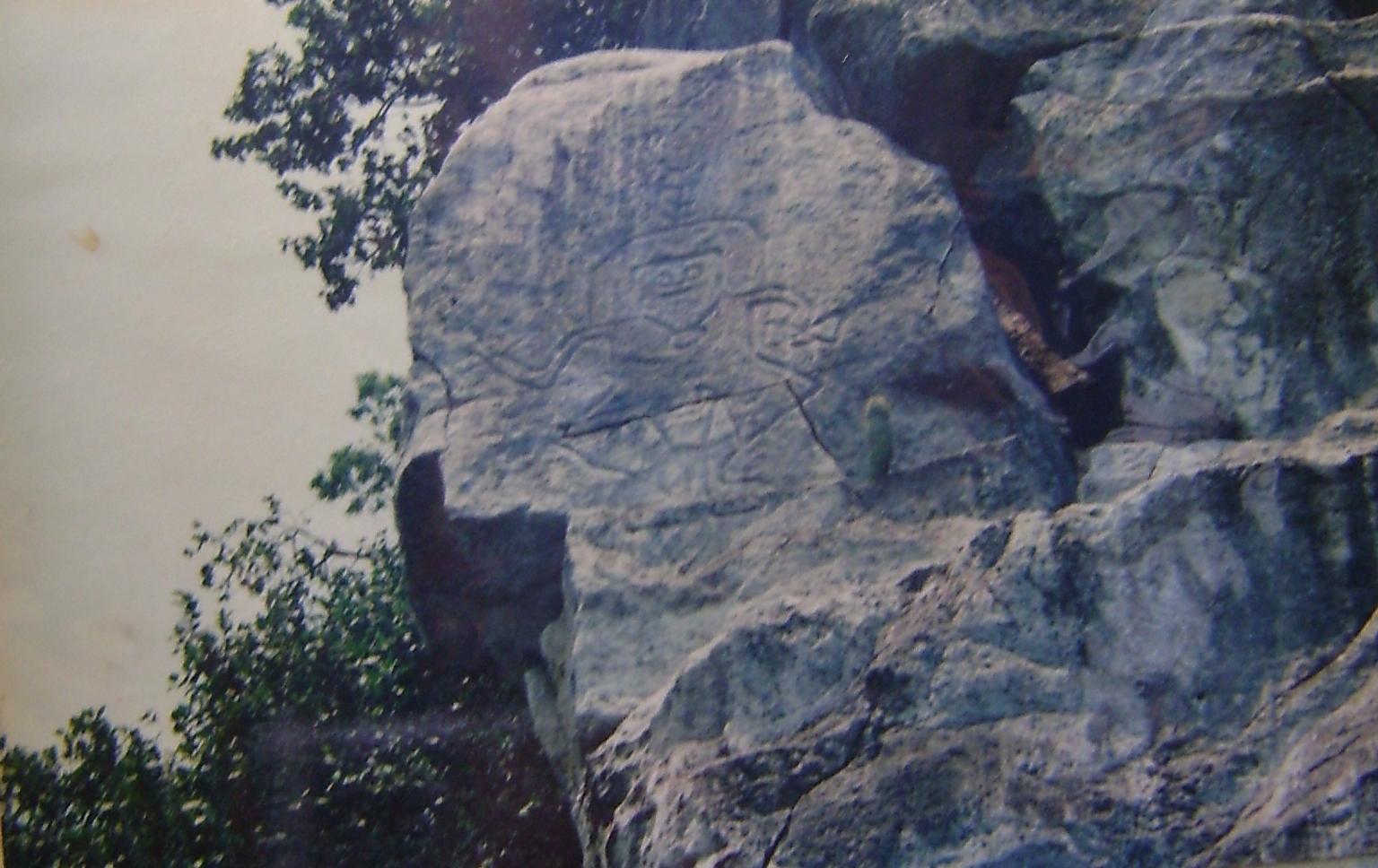 Un cerrito de Petróglifos Verdadero tesoro en Piedras 2lvk6m1
