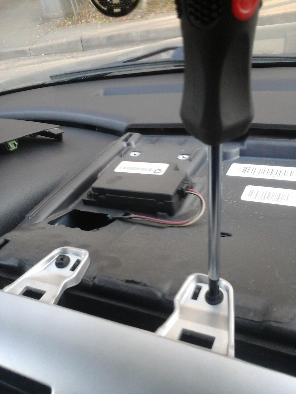 Замена блока кнопок, блока управления кондеем 2mjiv4