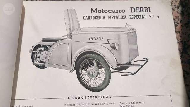 Los motocarros Derbi 2n15840