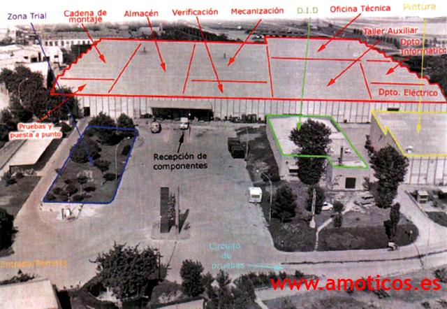montesa - Las cuatro fábricas de Montesa 2ni3ar4