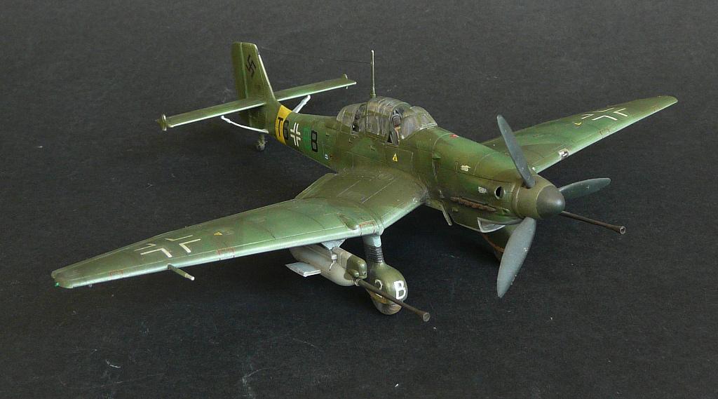 Junkers Ju87G-1 Stuka,1/72,Моделист. 2nvqkjb