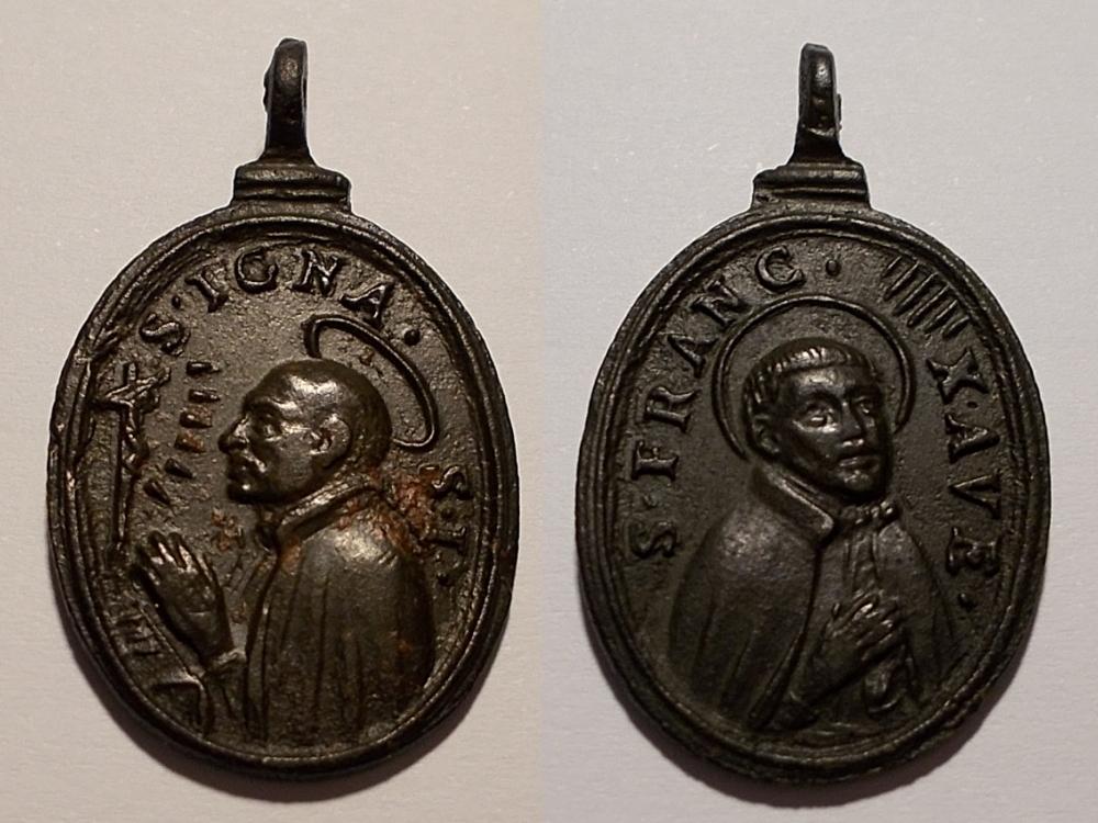 San Ignacio de Loyola / S. Francisco Javier (R. M. SXVII-O410) 2povzbk