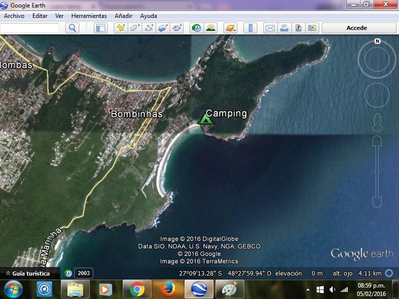 Informe Camping en Brasil - Camping 4 Ilhas - Bombas y Bombinhas 2r759gw