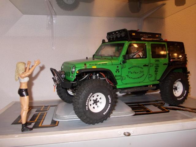 Diorama: garaje-taller crawler escala 1/10 2rf3701