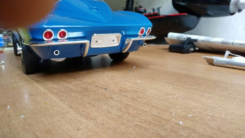 Revell 1/8 65 corvette stingray  2rncttz