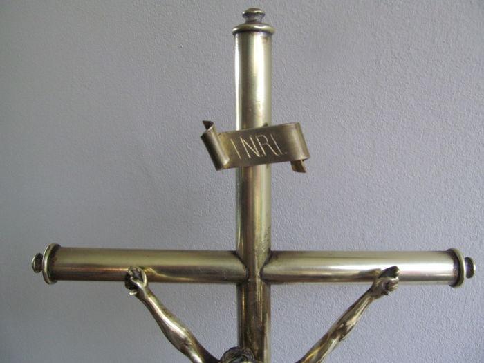 Crucifijo sobremesa bronce 2rpr59s