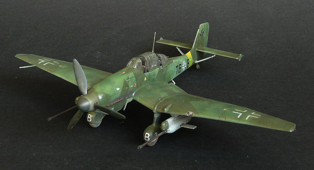 Junkers Ju87G-1 Stuka,1/72,Моделист. 2w65p3b