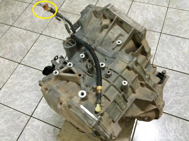 Nível de óleo do Cambio automático 2yzbps0