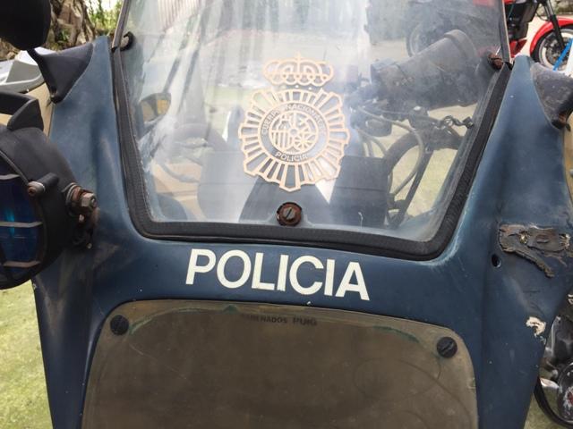 Yamaha XS 400 POLICIA 2z6rrkg