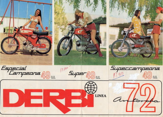 Derbi Antorcha Super primera serie 2zegmtf