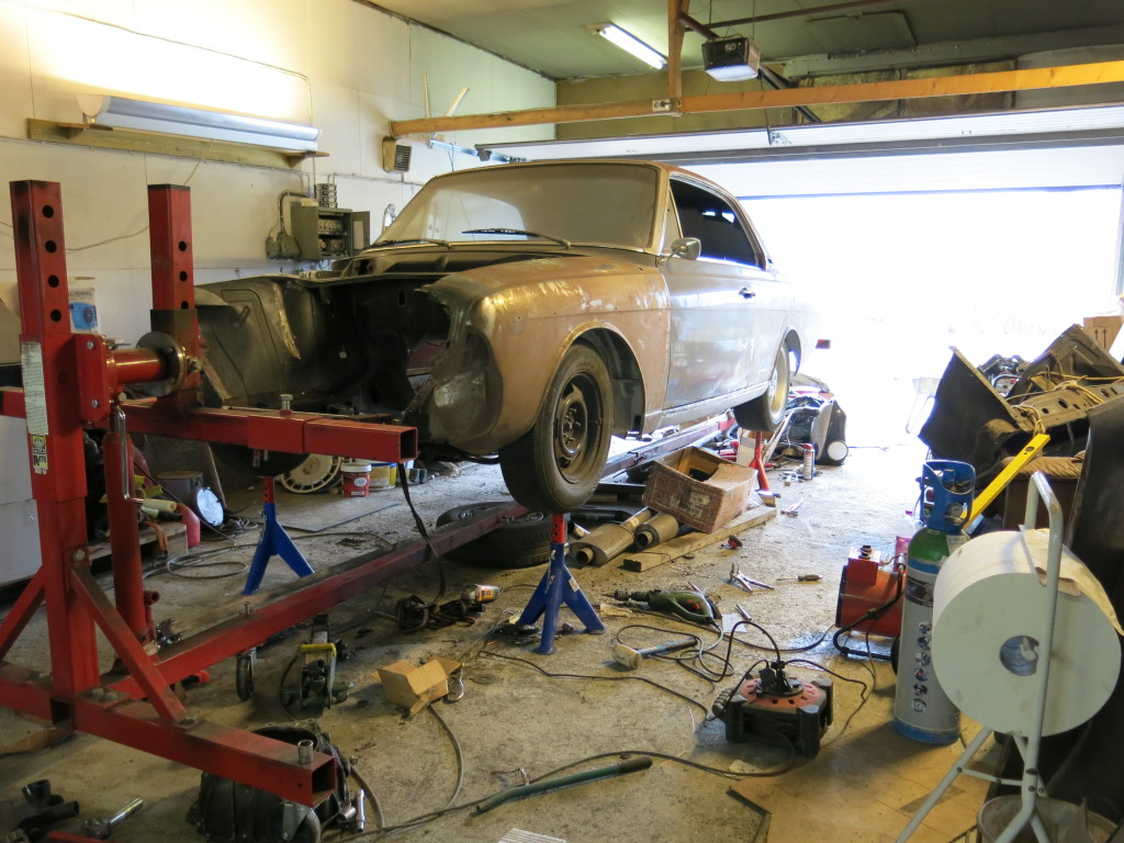 Ombygging av 1966 modell 20m Hardtop 30i9ush