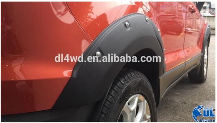 Alargador de paralama (novo EcoSport) 30wbafp
