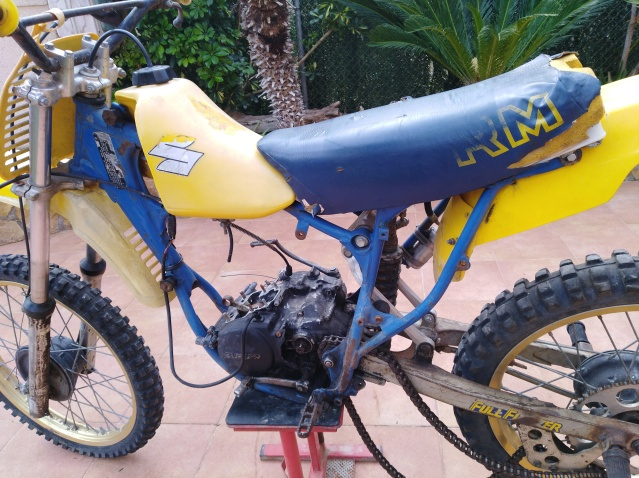 CHASIS PUCH OFICIAL Suzuki 3128hfm