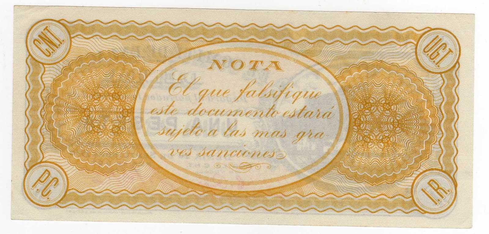 1 Peseta Denia 1936 33jofvc