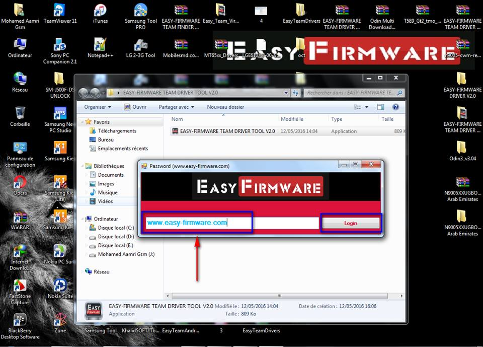 Easy-Firmware TEAM Driver Tool V2.0 345hdsm