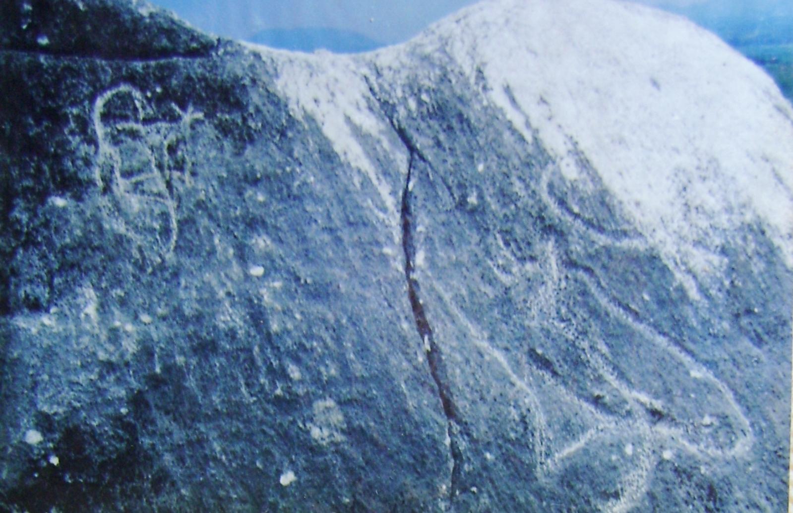 Un cerrito de Petróglifos Verdadero tesoro en Piedras 34h6z36