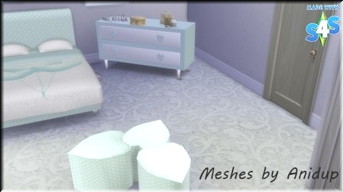 Sims 4 : Heartz Bedroom 34jbpmo