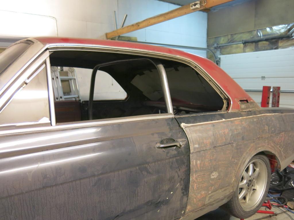 Ombygging av 1966 modell 20m Hardtop 4htvyp