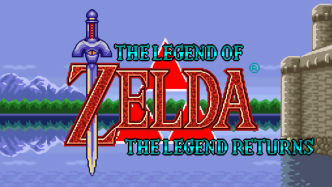 The Legend Of Zelda, The Legend Returns 6pu8lc