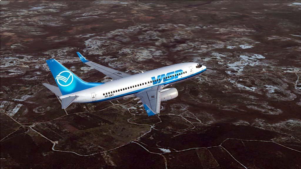 Boeing 737-700 Vasp 8vsx9u