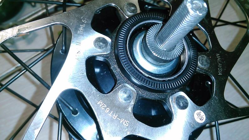Montaje de un cambio integrado Shimano Alfine 11v. 8zirud