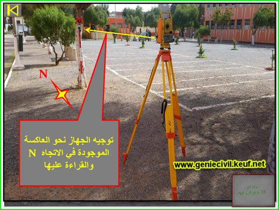 حساب المساحات باستعمال المحطة الشاملة Geo-allen GTS-310/330.(محاكاة) 9jj0w6