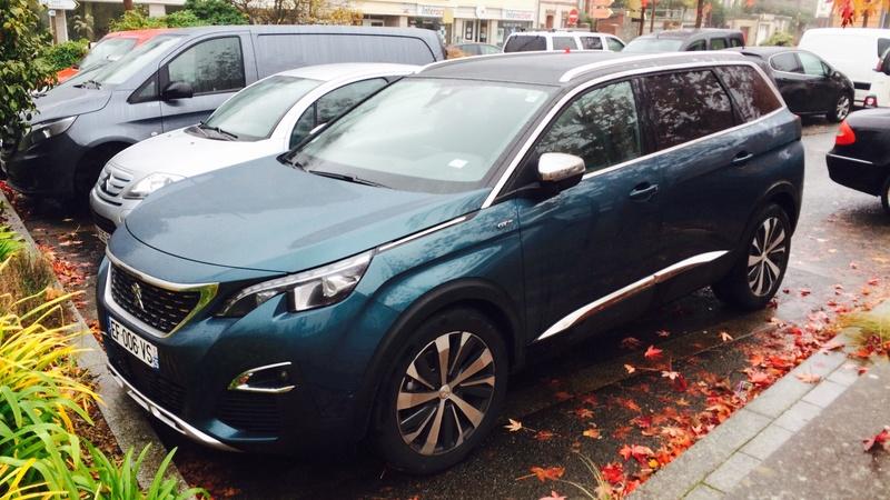 Avistamientos del nuevo Peugeot 5008 en Francia 9saplt