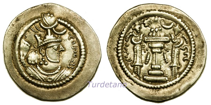 Las coronas de los shas de Persia. B620bl