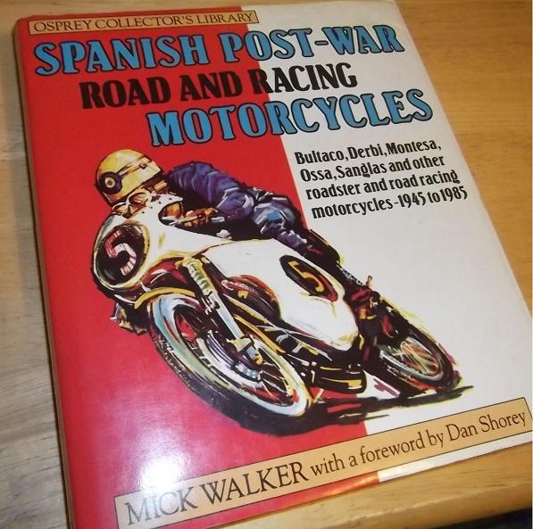 Libros extranjeros sobre motos españolas Dyondc