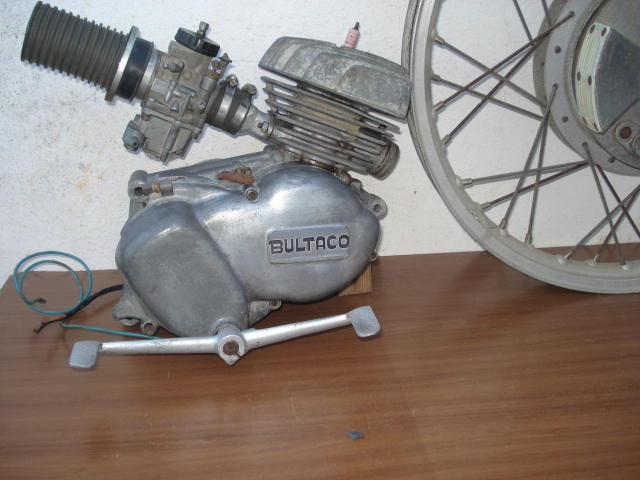 Mi nuevo proyecto: Bultaco Junior kit America E807ya